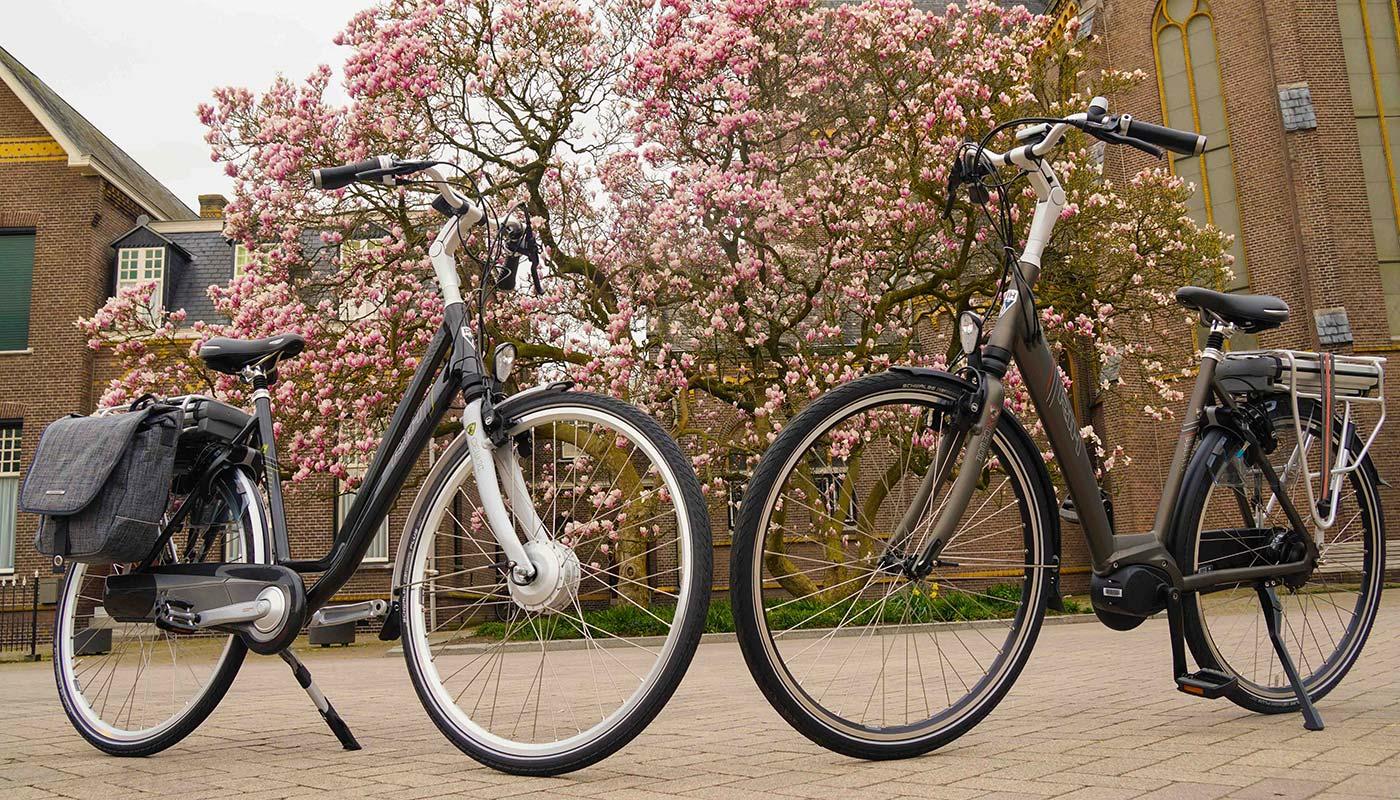 e-bike seizoen is begonnen