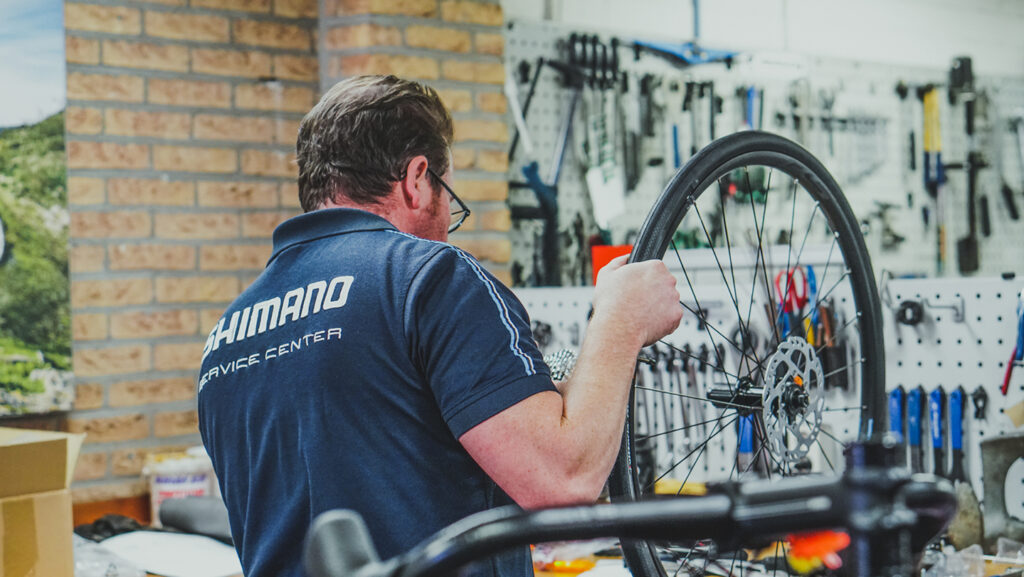fietsonderhoud winter mountainbike werkplaats